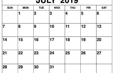 Printable 2019 Calendar Wiki Calendar Com