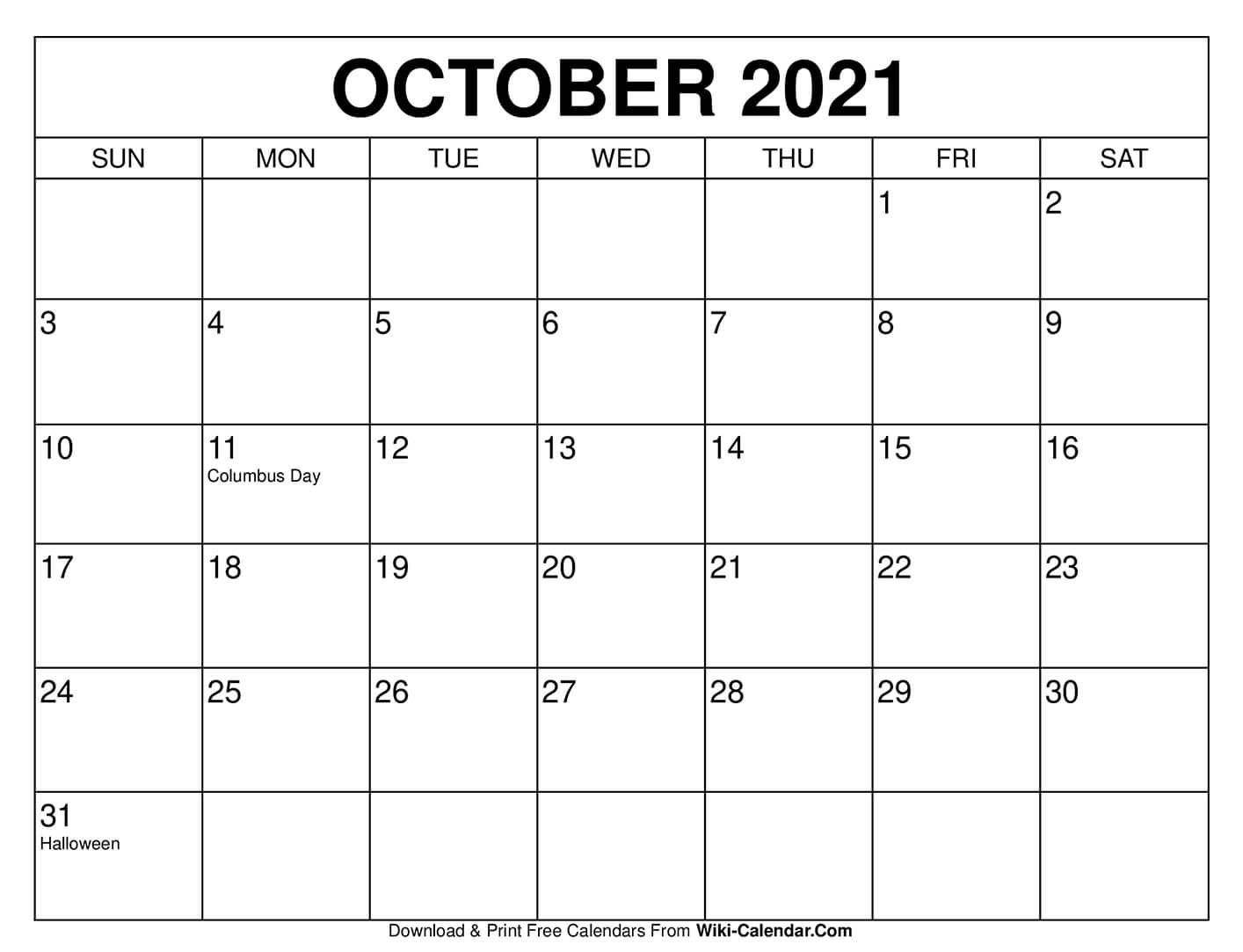 Halloween 2020 Wiki Free Printable October 2020 Calendars